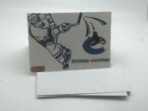 "San Hose Sharks Logo Birthday Card: ""Birthday Greetings""I 90 Logo I Set of 5"