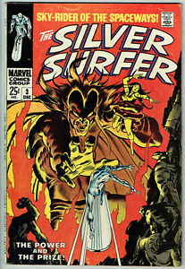 SILVER SURFER  3  FN/6.0 - Solid mid-grade copy of 1st Mephisto!