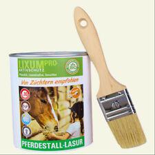 LIXUM Pferdestall Lasur, rein biologische, ökologische Holzlasur,  - für 10 m² -