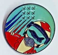 AEROPLANE ENAMEL BADGE