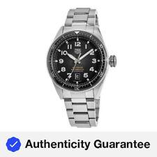 Nuevo Tag Heuer Autavia calibre 5 Cronómetro Negro Reloj para hombres WBE5114.EB0173