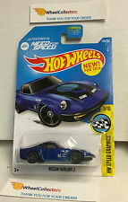 Nissan Fairlady Z #184 Need for Speed * BLUE * Hot Wheels 2016 * USA Card * Y3