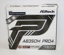 ASRock AB350M PRO4 AM4 micro-ATX Motherboard AMD Ryzen 2000 READY!