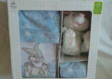 Disney Thumper Newborn Gift Set, 0-3 Months, Organic Cotton, Blue, Bambi, New