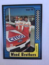 NASCAR COLLECTORS CARDS THE WOOD BROTHERS MARK MARTIN HUT STRICKLIN AND 3 MORE