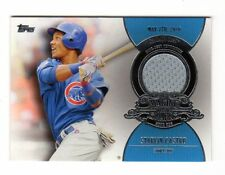 STARLIN CASTRO MLB 2013 TOPPS MAKING THEIR MARK RELICS (CHICAGO CUBS,YANKEES)