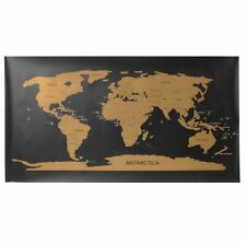 Extra Large 80x45cm Scratch Off World Map World Extra Large Size Wall Art Paper