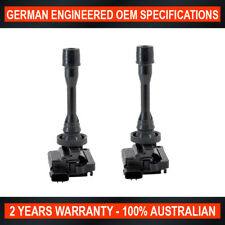2 x Ignition Coil for Mitsubishi Pajero Lancer Outlander ZE Nimbus Proton Waja