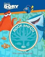 Disney Pixar Finding Dory Book and CD: With Original Movie Voices, , Very Good B