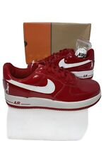 Nike AF1 Air Force 1 SHEED Low Varsity Red/White Sz 9.5 DS 2004!
