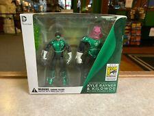 2012 DC Collectibles SDCC Exclusive Kyle Rayner & Kilowog Green Lantern 3.75 NIB