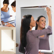 "Wall Foil Mirror Decorative Wall Sticker Self-adhesive Wall Decals 24"" x 39"" UK"
