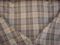 2-1/2Y Brunschwig & Fils BF10655 Victoria Wool Tartan Plaid Upholstery Fabric