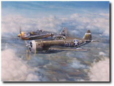 Not My Turn To Die by Jim Laurier - P-47C Thunderbolt - Aviation Art Canvas
