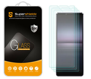 [3-Pack] Supershieldz Tempered Glass Screen Protector for Sony Xperia 10 III