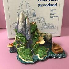 Olszewski 1993 Goebel Disney Peter Pan's Neverland Island Display Figurine 997-D