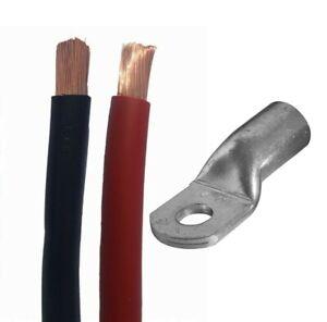 Lapp Batteriekabel H07V-K Rot Schwarz 4 6 10 16 25 35 50 mm² Haupa / Klauke
