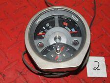 DKW F 102 Uhr Tankanzeige Temeraturanzeige Instrument Cockpit Tacho #2