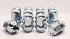 12 x M12 x 1.25, 19mm Hex Dadi per Fissaggio Ruote (Zincato)