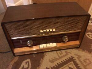 Stella Vintage Radio(Philips Dutch Radio)Antique
