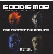 GOODIE MOB STICKER 2013 Age Against The Machine OFFICIAL PROMO New Mint RARE