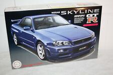 Nissan Skyline GT-R R34 Nismo - 1:24 - Fujimi