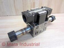 Nachi SS-G01-C7Y-R-C115-E30 Valve SSG01C7YRC115E30 No Coils - Used