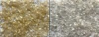 Clear Glass Chippings with Gold or Silver Glitter 4-10mm Home Garden Wedding
