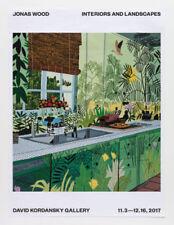 Jonas Wood Interiors & Landscapes Jungle Kitchen Poster David Kordansky Gallery