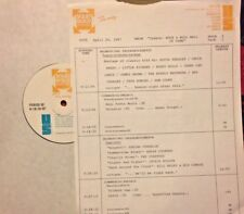 RADIO SHOW: 4/24/87 HALL OF FAME w/11 MINUTE HIT MONTAGE; ROY ORBISON, COASTERS