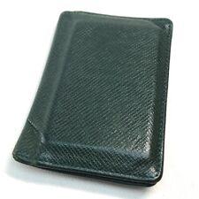 LOUIS VUITTON M30514 Taiga Organizer Dupoch Card holder Card Case TaigaLeather