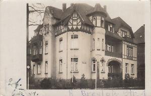 Erfurt - private Fotokarte Hausansicht Richard-Breslau-Straße - 30er Jahre