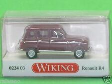 1:87 Wiking 022403 Renault R4 - weinrot Blitzversand per DHL-Paket