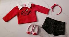 """American Girl Grace City Outfit Complete Retired 18"""" Doll Love Shoes  EUC Lot"""