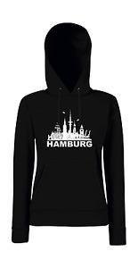 Hamburg Girlie Kapuzenpullover