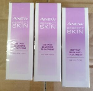 X3 Avon Anew Vitale Visible Perfection Instant Blurring Treatment perfect  skin!