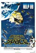 Message from Space Poster 01 A2 Box Toile imprimer