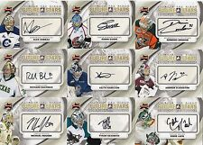 30 different 2011-12 ITG Between Pipes Hockey Future Stars Autograph Card Lot