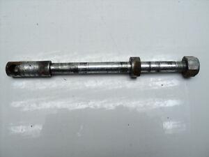 #2111 Hodaka Ace 100 Front Axle Assembly