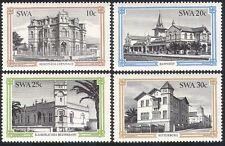 SWA/South West Africa 1985 Swakopmund/Railway Station/Buildings 4v set (sw10105)