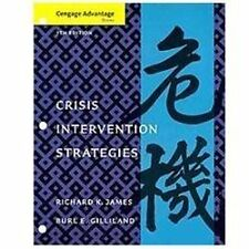 Cengage Advantage Books: Crisis Intervention Strategies, James, Richard K., Gill
