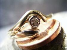 REIF-DESIGN -  FILIGRANER DIAMANT RING - MASSIV 333 GOLD