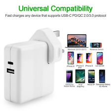 Power Adapter Charger For Apple Macbook Air USB-C Type C Cable Power Supply iPho