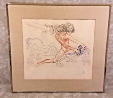 Samson and Delilah Ltd Edition Salvador Dali Print with COA 1972