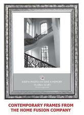 Silver & Black Art Nouveau Photo Picture Frame 6x4 5x7 8x6 10x8 A4 Certificate