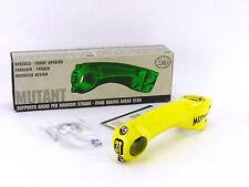 "3T Mutant stem 1"" or 1-1/8"" Ahead 130mm 3ttt Vintage Bike Threadless YELLOW NOS"