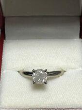 1.21ct Natural Mine Diamond Solitaire Engagement Ring Platinum 18K Gold Gordons