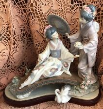 Lladro 1445 Springtime in Japan With Base A Small Flaw! No Box! Beautiful! L@@K!