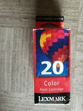 Lexmark Color Print Cartridge 20 Printer Ink