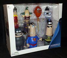 DC Nation Aardman Action Figure 5-Pack - Batman, Superman, Joker & More - New!